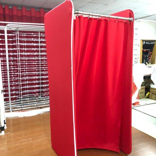 Custom-Red-Dressing-Room