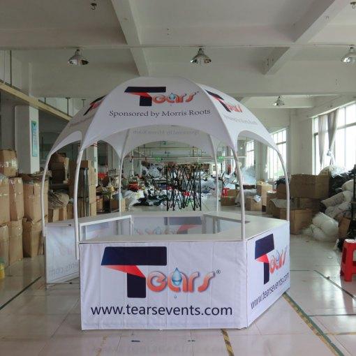 Kiosk-Tent-