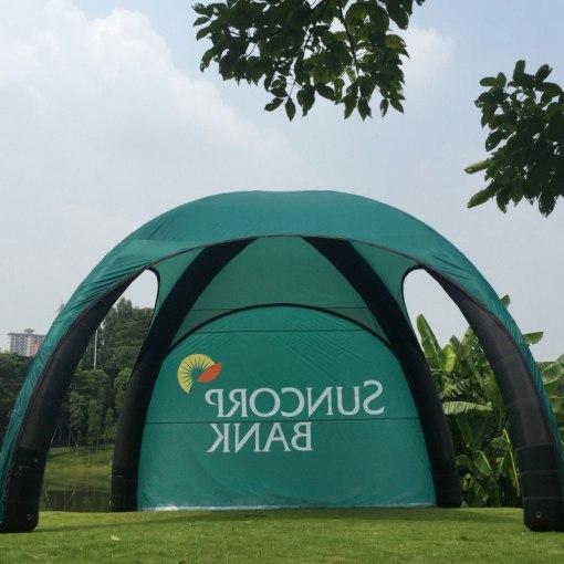 Inflatable-Tent-Custom-printed
