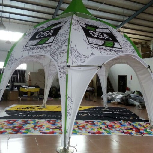 Printed-Dome-Event-Tent-with-Arch