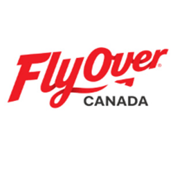 Fly over Canada logo