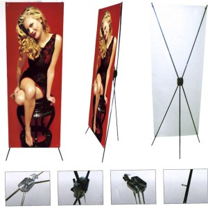 X Frame Banner Stands