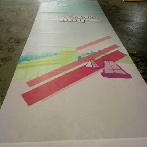 Concert Stage Banner Printing