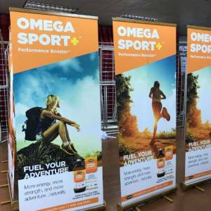 Bamboo Roll up Banners