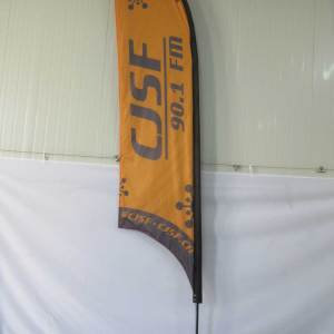 Concave Feather flag