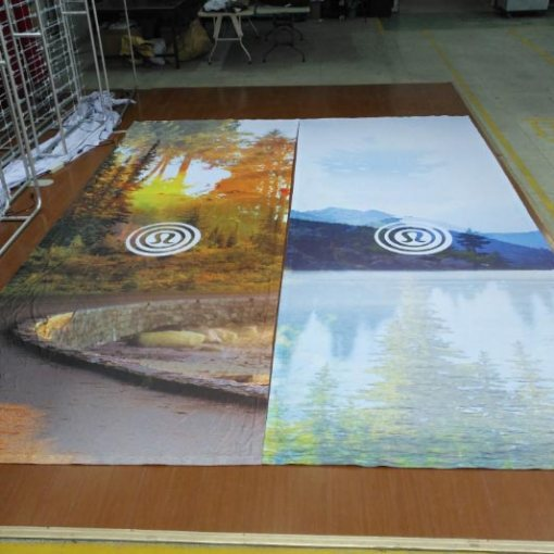 Fabric Backdrop Printing Vancouver