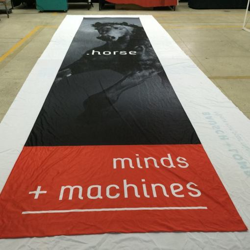 Hanging Banners for California Event