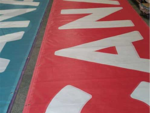 Fence Scrim Banners