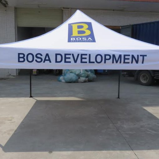 Pop-up-10x10-Canopy-logo-tent-for-Construction-site