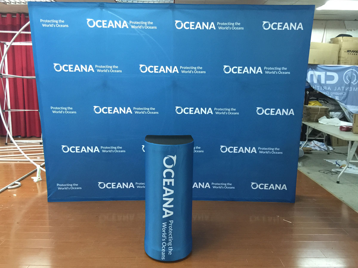 Exhibition Stand Carry Cases : Order online pop up display stands pop up fabric backdrop display