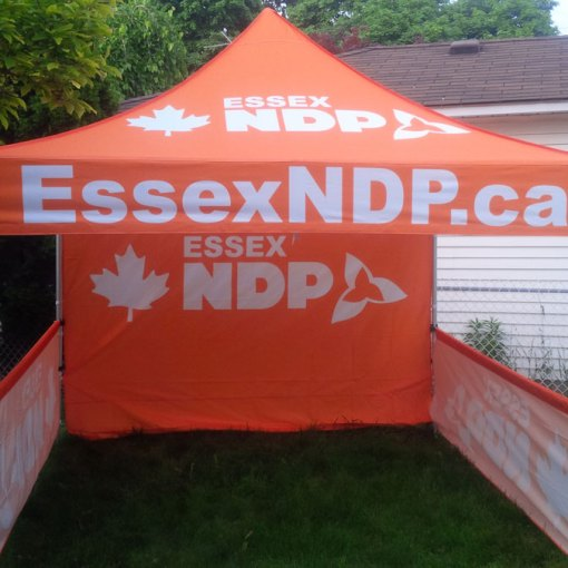 Ontario Canada Pop up Printed Canopy Tent