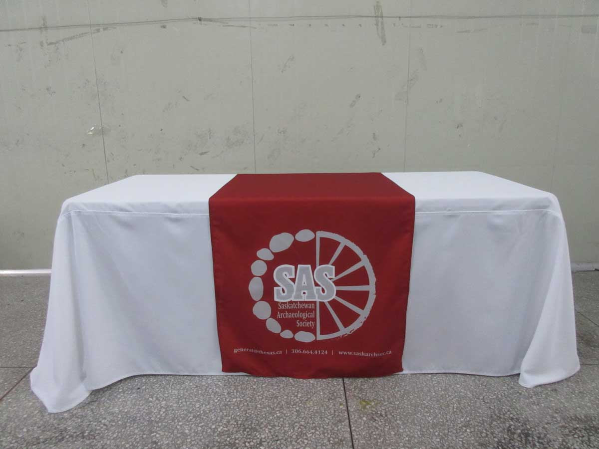 Table Runner With Logo