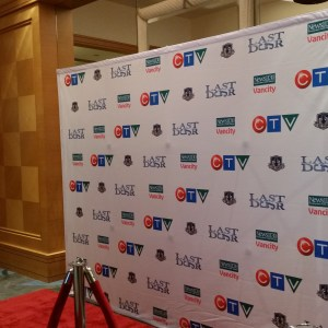 Step and Repeat Logo Wall Vancouver