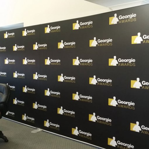 20 Foot Tension Fabric Wave Event Display
