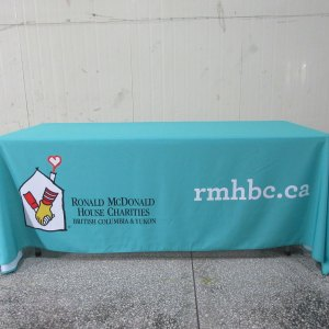 Table cover printing Canada