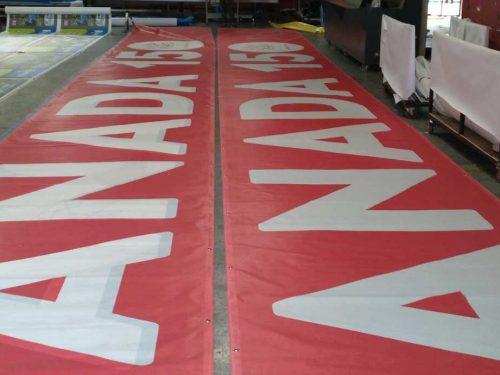Mesh Banner Hoarding