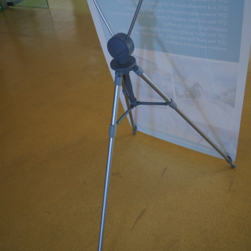 X Frame Stand with Vinyl Banner