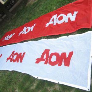 Fabric Mesh Banners Custom Printed
