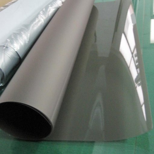 Dark grey projection film