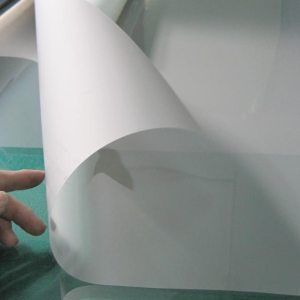 White Rear Projection Film