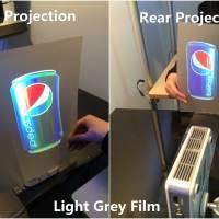 Light grey Rear Projection Film