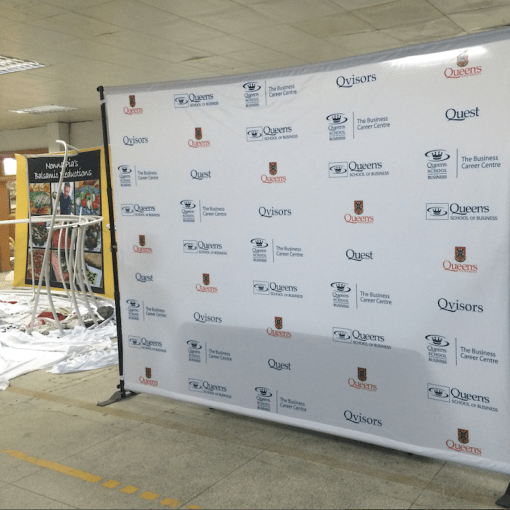 Step and Repeat Backdrop Stand Kingston, Ontario