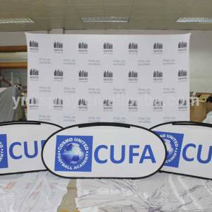 Logo wall and Pop up Banners