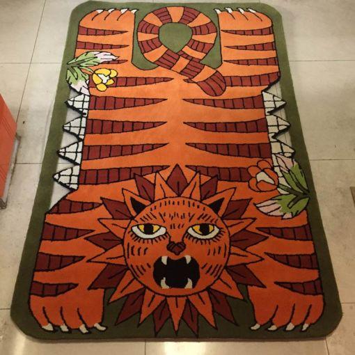 Custom-Made-Wool-Floor-Mat