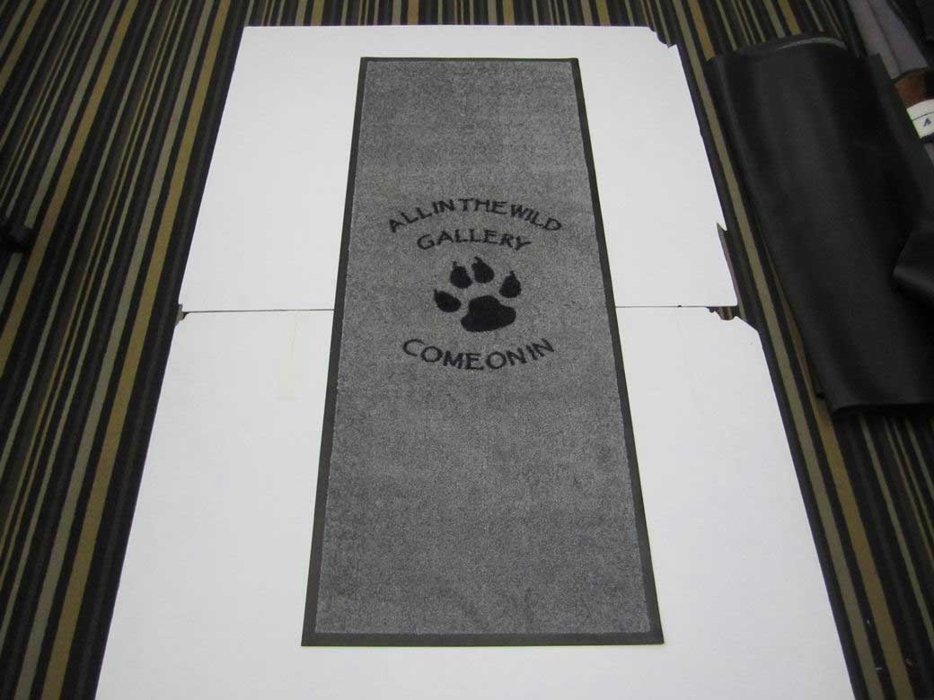 Custom Printed Logo Mats And Door Mats