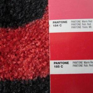 Printed-door-mat-colour-matching---Pantone-185C