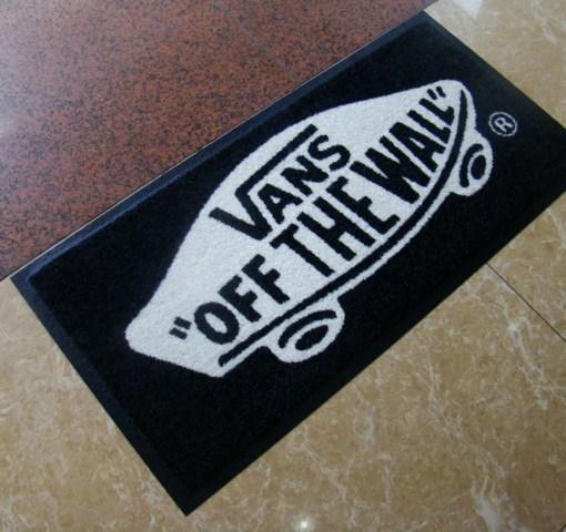 Printed logo mats full image