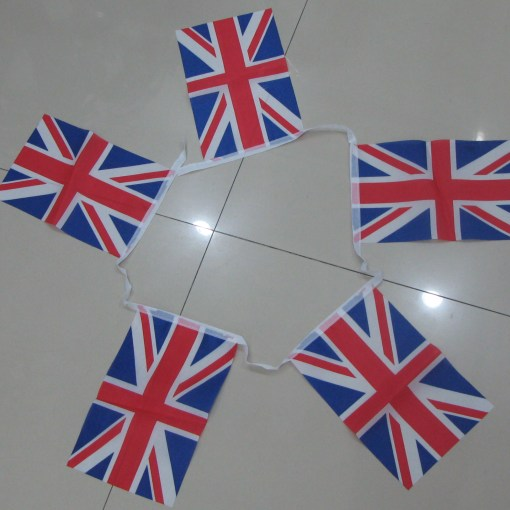 Block Style Bunting Flags