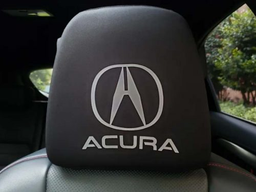 Headrest Cover Personalized