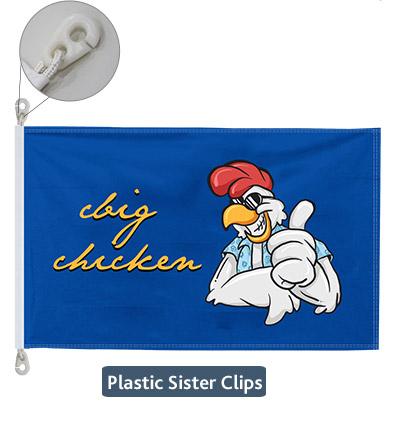 Plastic Inglefield Clip