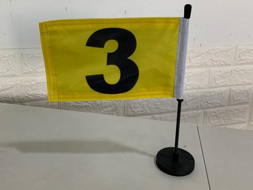 Double Sided Hood Flags