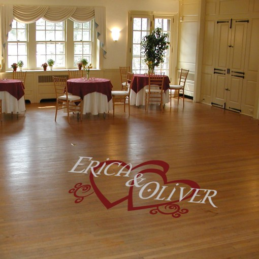Floor Decal Printing For Weddings