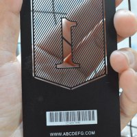 Luxury Metal cards