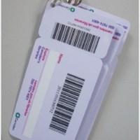Combo Membership and keychain card