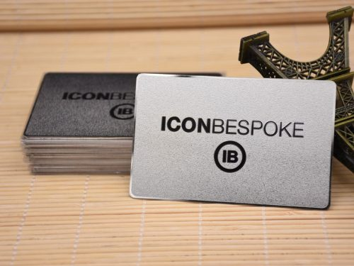 Silver Metal Cards
