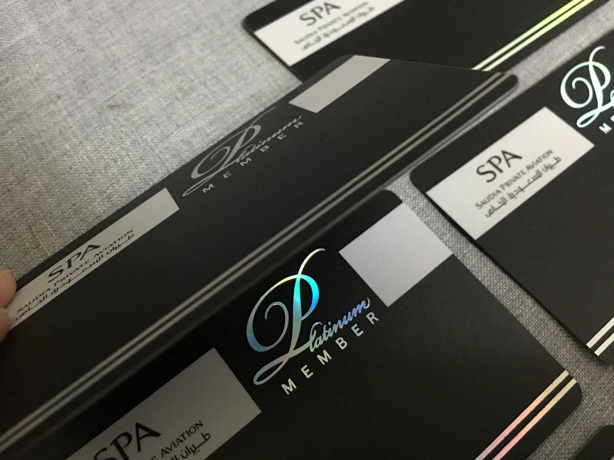 Holographic-Business-Cards - Oh my Print Solutions