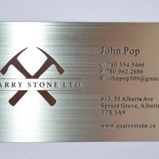Metal-Business-cards-brushed