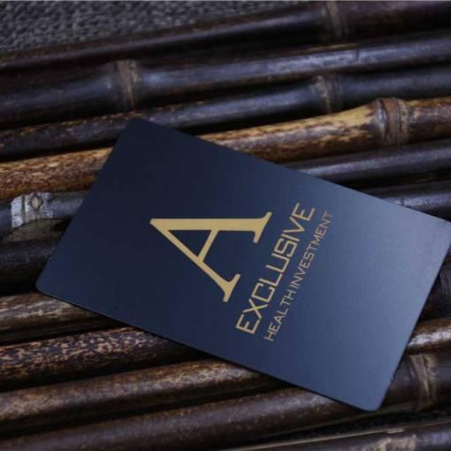 Black Matte Metal Cards