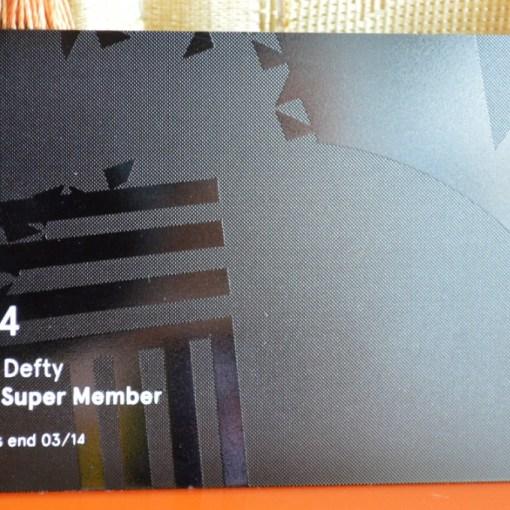 Metal Business card matter black