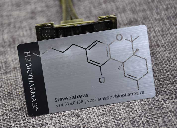 My metal business card oh my print solutions brushed metal business cards with cut out colourmoves