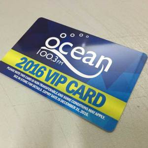 PVC Plastic Membership Cards