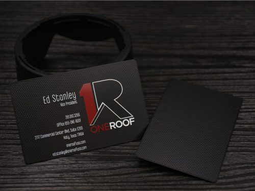Matte Black Metal Cards