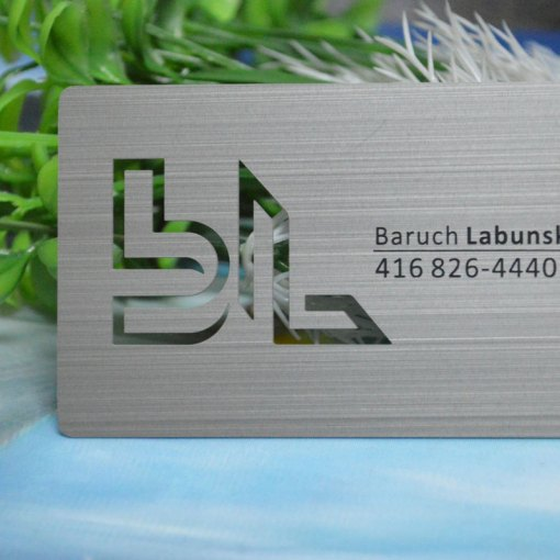 Toronto-Metal-Business-Cards