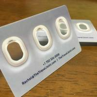 transparent Clear PVC Business Cards