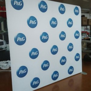 logo wall printing