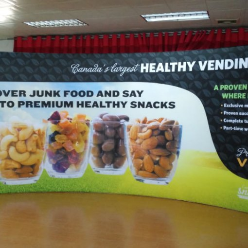 Curved Trade Show Display